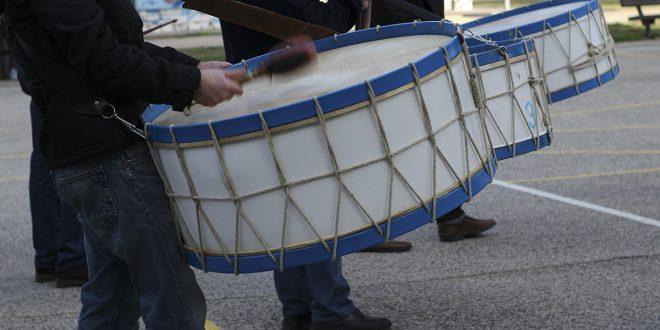 Semana Santa de Zaragoza 2020: ensayos de la Cofradía de la Entrada
