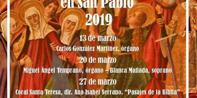 Ciclo de Música de Cuaresma en la Iglesia de San Pablo