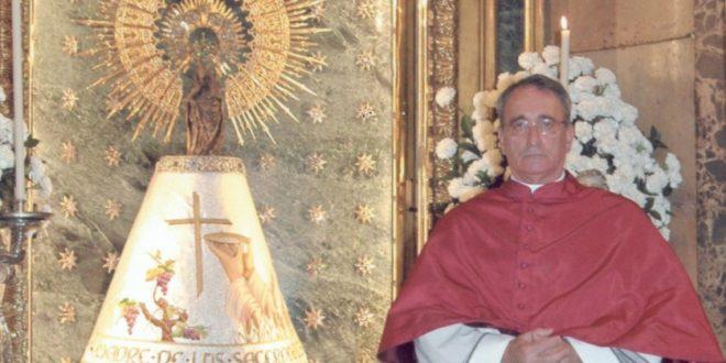 Jesús Domínguez Longás, pregonero de la Semana Santa de Zaragoza 2019