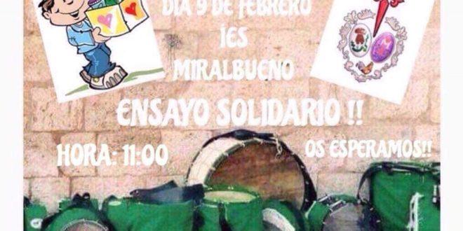 Ensayo solidario de la Cofradía Negaciones
