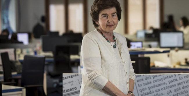 Pilar de Yarza, pregonera de la Semana Santa de Zaragoza 2020