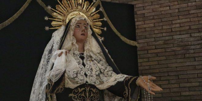 La Virgen de las Lágrimas se podrá visitar durante la Cuaresma