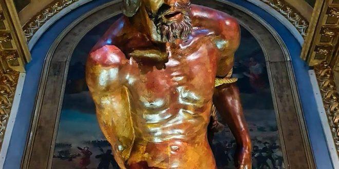 Cofradía de la Columna: horarios de visita en la Iglesia de Santiago durante la Semana Santa de Zaragoza 2021